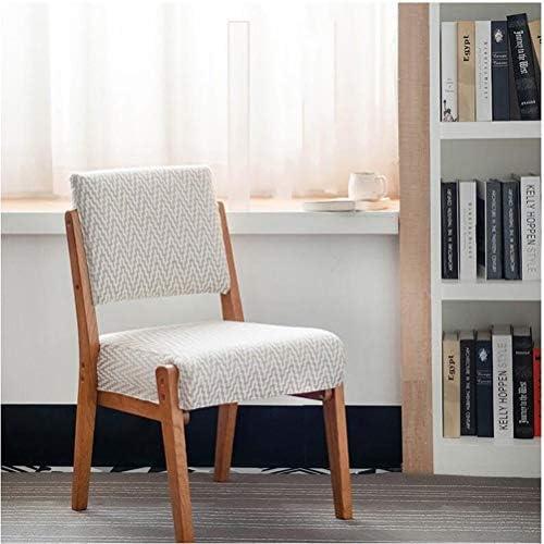 Wuzhengzhijie Chaise à dîner Cuisine, Coussin en Coton, café Hôtel Family Lounge, Meubles Signature Design Chaise côté rembourré (Size : A)