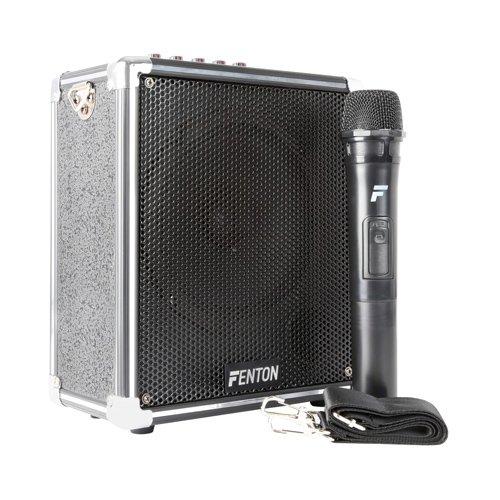 Fenton ST040170052Sistema portátil Amplificado, Negro Tronios ST040 170052
