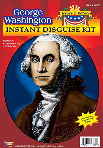[Forum George Washington Instant Disguise Kit] (Cool Costumes For Boys)