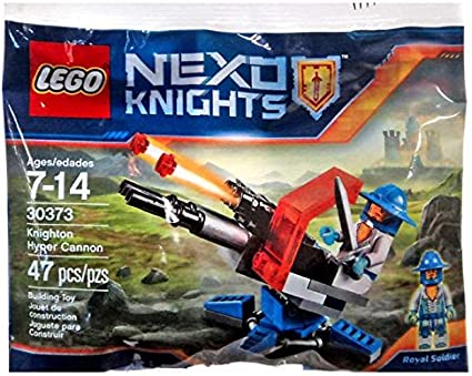 LEGO ® 30373 Nexo Knights Knighton Hyper-canon Royal Knight polybag