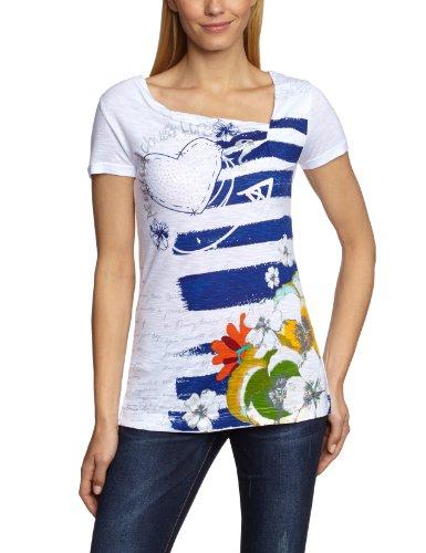 DESIGUAL - Women's T-shirts - white, XL