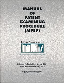 Trademark Manual of Examining Procedure (TMEP) Law and Legal Definition