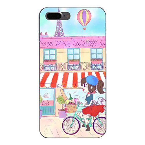 "Disagu SF-sdi-5317_1158#zub_cc6758 Design Schutzhülle für Apple iPhone 7 Plus - Motiv ""Parisienne"""