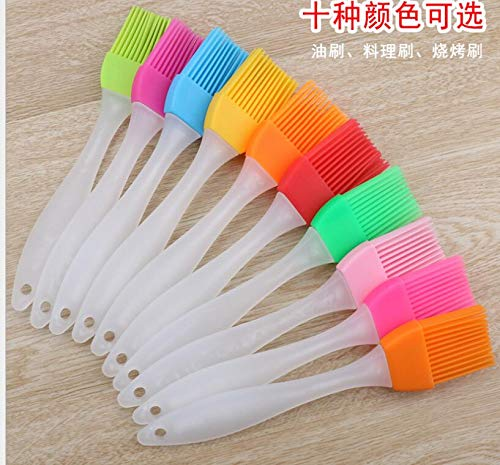 Huyenkute Wholesale 1500pcs Multi Color Silicone Basting Pastry Brush Oil Brushes for Cake Bread Butter Baking Safety BBQ Barbeque Useful