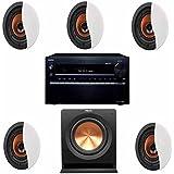 Klipsch CDT-3650-CII In-Ceiling System FREE Klipsch R-110SW