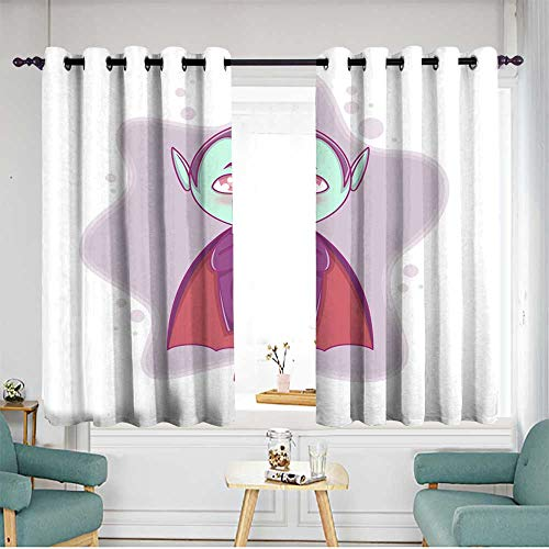 home1love Thermal Insulated Blackout Curtains Hipster Patterned W 63