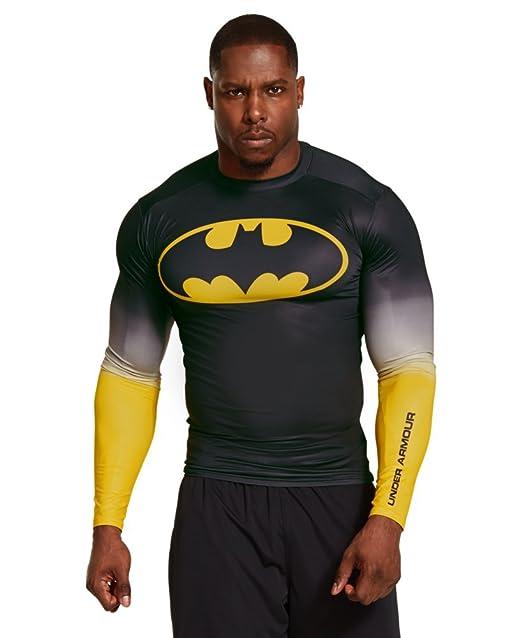Camiseta de compresión de manga larga Under Armour Alter Ego Batman - Black 003 (XX