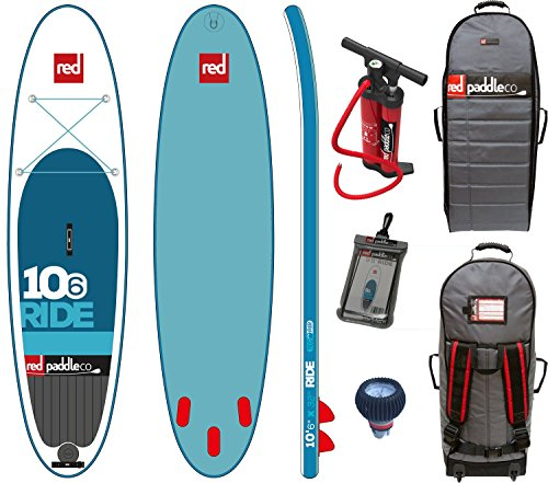Red Paddle Co RIDE 10'6 x 32' (2016 Series) Includes Bundle. Titan Pump - Backpack - Pumped Up SUP...