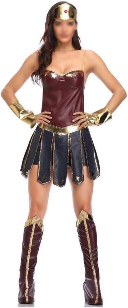 Desconocido Disfraz de Mujer Maravilla de Halloween, Color Morado ...