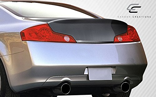 Carbon Creations Replacement for 2003-2007 Infiniti G Coupe G35 HD-R Trunk - 1 Piece