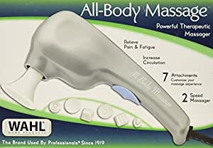 Wahl 4120-200 All-Body Massage Powerful Therapeutic Massager in Pharmacy Box