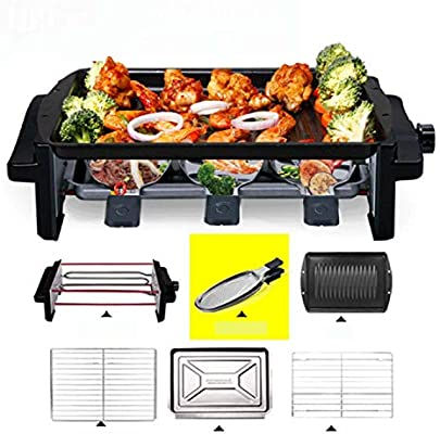 WJJJ Coreano BBQ Hogar Horno de Barbacoa eléctrico para no ...