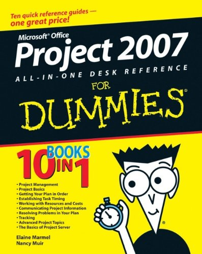 Microsoft Office Project 2007 All-in-One Desk Reference For Dummies-cover