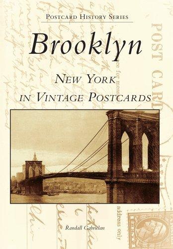Brooklyn, New York in Vintage Postcards (Postcard History) by Randall Gabrielan - Mall Brooklyn Shopping In