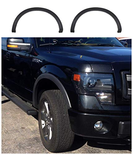 CD-Parts Fits for 2009-2014 Ford F-150 OE Factory Style Fender Flares Wheel Protector