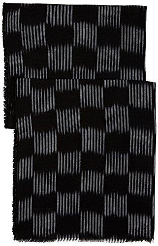 noir Produttore Un Oblong Ikat Regular Sciarpa Checkerboard Nero Uomo Unica Levi's Black taglia 7BYEnTxPn