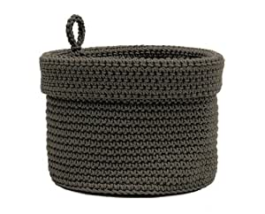Amazon.com: Heritage Lace Mode Crochet Round Basket with Loop, 8 by 8