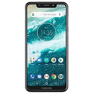 Motorola Moto One – Android One – 64 GB – 13+2 MP Dual Rear Camera – Dual SIM Unlocked Smartphone (at&T/T-Mobile/MetroPCS/Cricket/H2O) – 5.9″ HD+ Display – XT1941-3 – (International Version) (White)