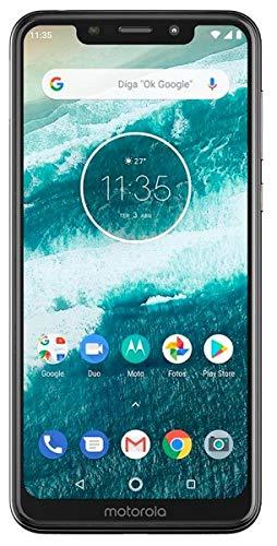 [해외]모토로라 하나 XT1941 32B 잠금 해제 GSM 듀얼 SIM 전화 w듀얼 13 + 2 메가 픽셀 카메라-화이트 / Motorola One XT1941-3 32B Unlocked GSM Dual-SIM Phone wDual 13+2 Megapixel Camera - White