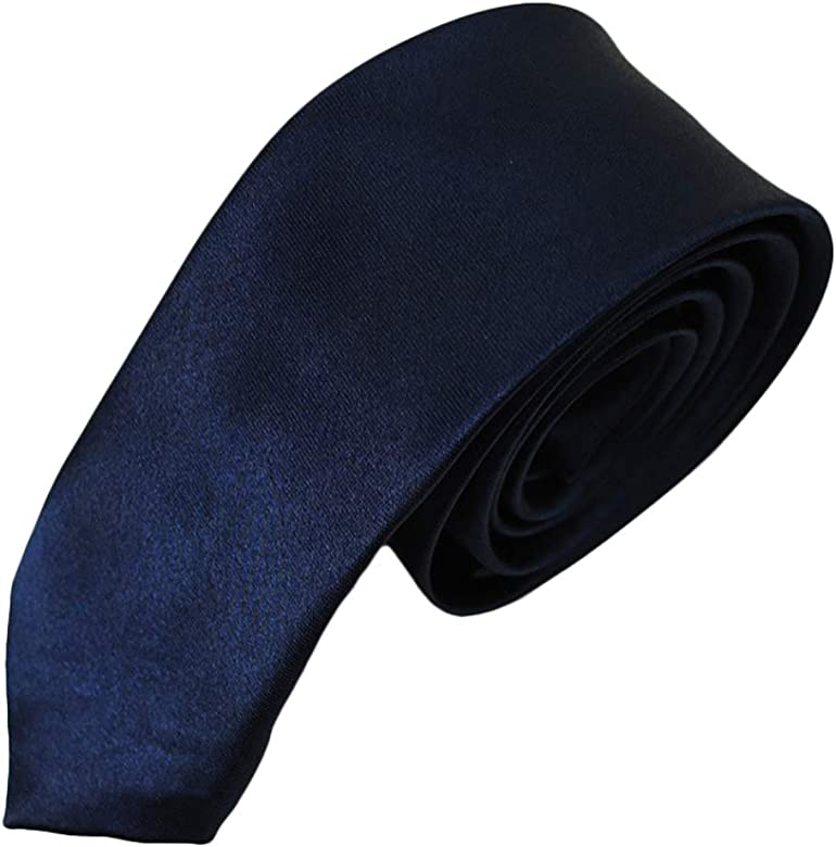 JUNGEN Corbata Informal para Hombres con Color sólido Corbata de ...