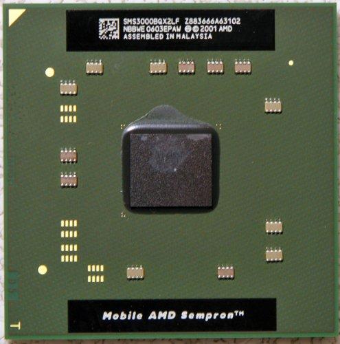 SMS3000BQX2LF AMD Mobile Sempron 3000+ 1.8GHz Processor SMS3000BQX2LF