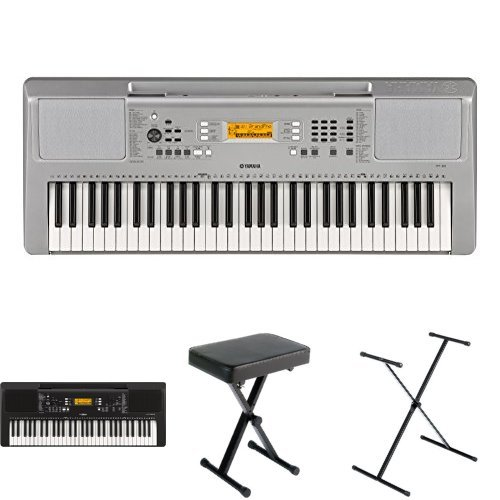 Yamaha YPT-360 Portable Keyboard Bundle with Stand, for sale  Delivered anywhere in USA