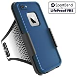 Encased Workout Armband for LifeProof FRE Case - iPhone 7 & iPhone 8 (case not included)