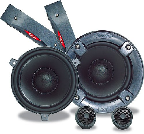 Boston Acoustics SX60 - Car speaker - 65 Watt - 2-way - component (For Cars Boston Speakers)