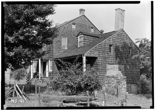 (HistoricalFindings Photo: Peter Berrien House,Old Rocky Hill Road,Rocky Hill,Somerset County, Jersey)