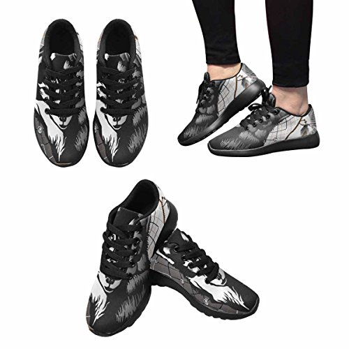 Interestprint Femmes Jogging Running Sneaker Léger Aller Facile Marche Confort Sport Chaussures De Course Multi 3