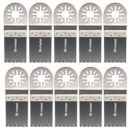 Pukido 10pcs 35mm Bi-metal Saw Blades Oscillating Tool for Bosch by Pukido