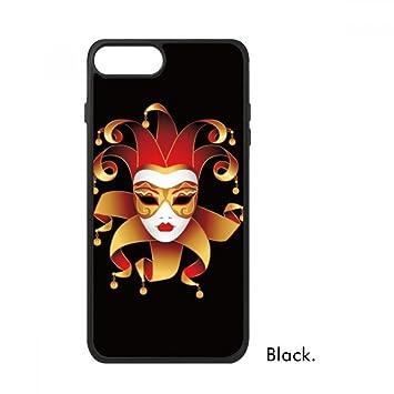 DIYthinker Máscara misteriosa Carnaval De Venecia Feliz para iPhone 7 más Las Cajas de Regalo phonecase