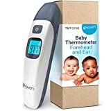 [New Version] iProven Baby Thermometer Forehead and Ear - Digital Thermometer for Infant - Body Temperature Thermometer with Object Mode - Instant Readings, Silent Mode and Best Accuracy