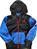 Nike Jordan Boys' Colorblocked Hoodie (Large)