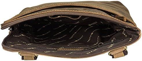 Greenburry Vintage Umhängetasche Leder 24 cm Tabletfach