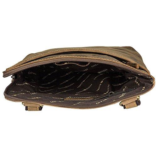 Greenburry Vintage Bolso bandolera piel 24 cm compartimento tablet