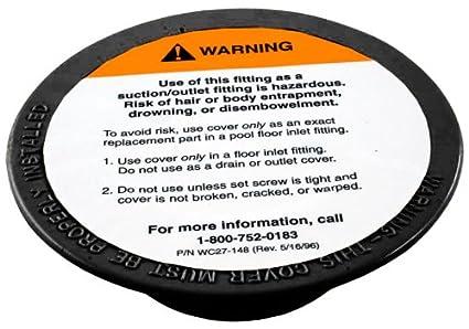 Amazon.com : Pentair 08417-0005C Black Cover Plate ...