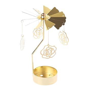 Xurgm Rose Metall Gold Kerzenhalter Für Kegel Kerzen Eisen Dünne Metall  Moderne Tisch Dekorative Herzstück Elegante