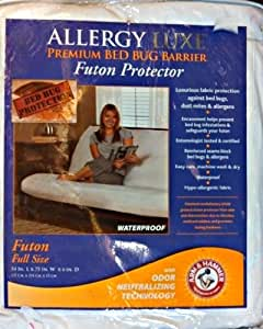 Allergy Luxe Premium Bed Bug Barrier / Futon Protector Full