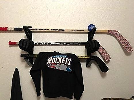 Amazon.com: Hockey Stick Rack | Wall Storage for Sticks ...