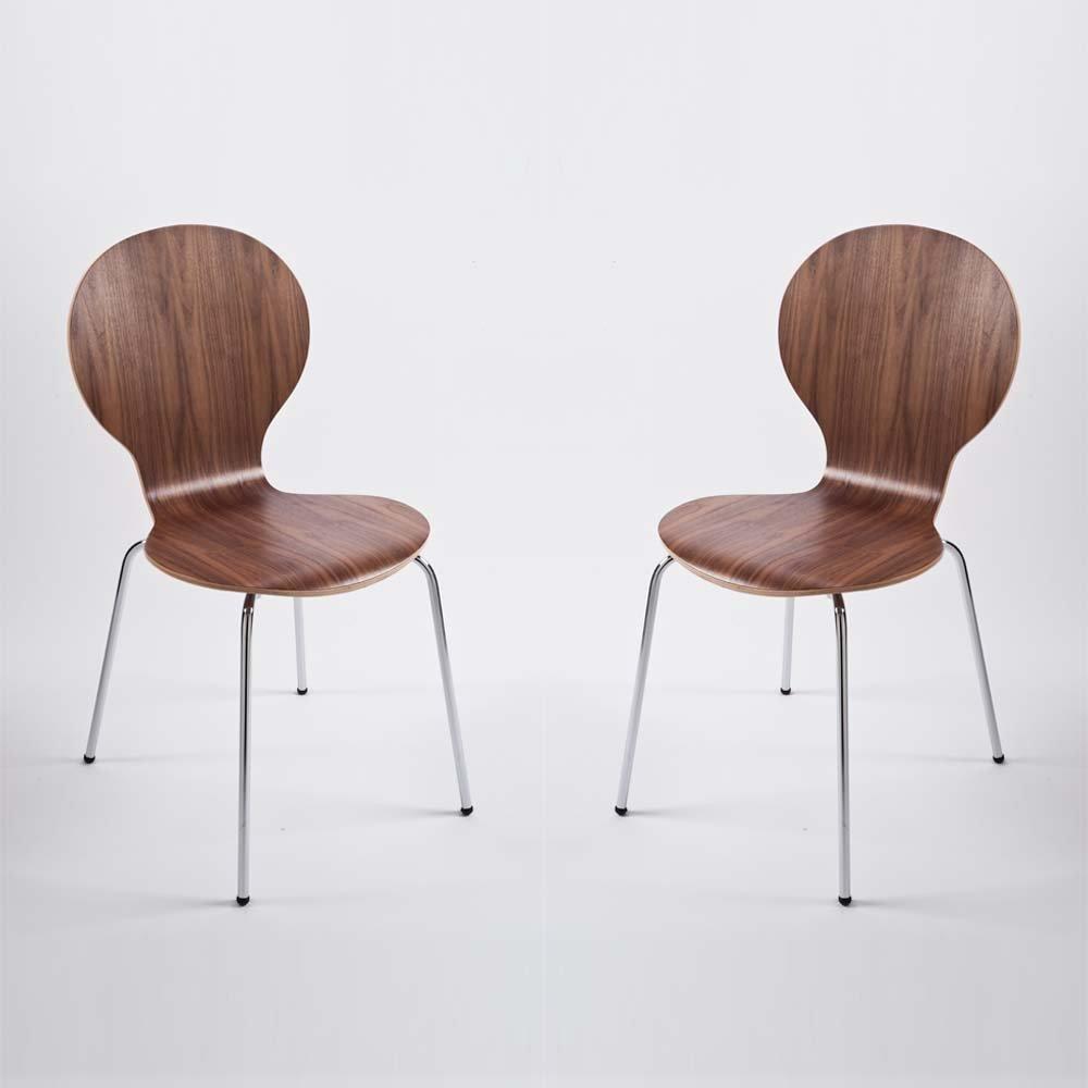 Stuhl Klassiker Holz 4 stück design klassiker stuhl esszimmerstuhl stockholm stapelbar