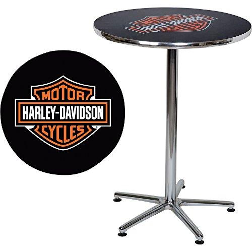 Harley-Davidson Logo Bar Table - 41in.H
