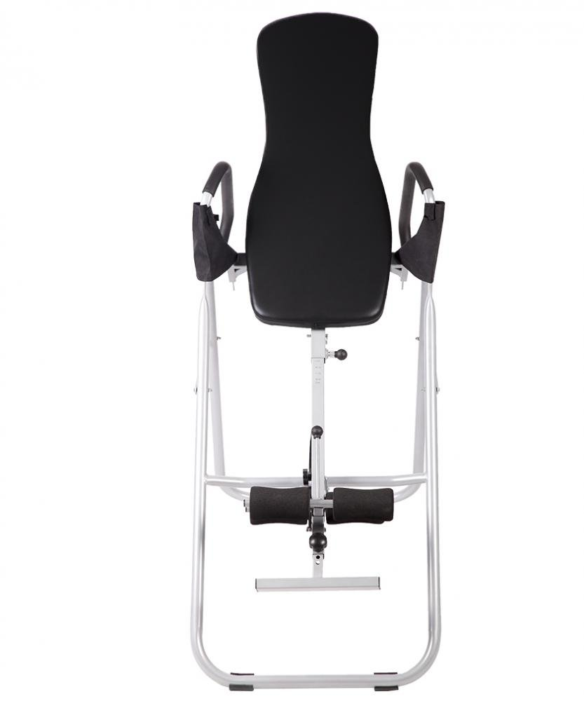BestMassage Adjustable Folding Inversion Table With Comfort Backrest And Durable Tubular Steel Frame