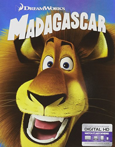 Madagascar Blu-ray w/ Family Icons Oring