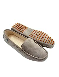 Minitoo TYB9601 Women's Round Toe Loafers Boat Shoes Ballet Flats Loafers