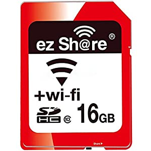 ez Share 8GB 16GB 32 GB Or Adapter WiFi SDHC card Class10 SD card Wireless camera memory card for Camera Cannon SAMSUNG SONY FUJIFILM CASIO Nikon Panasonic PENTAX OLYMPUS