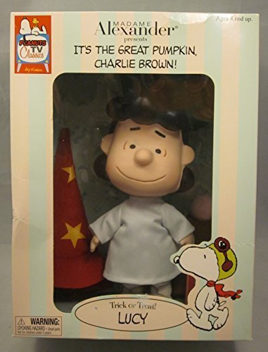 Madame Alexander Trick or Treat Lucy Doll It's The Great Pumpkin Charlie Brown Peanuts Schultz
