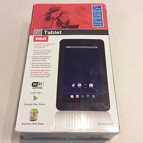 RCT6378W2 Inch 8GB Android Tablet