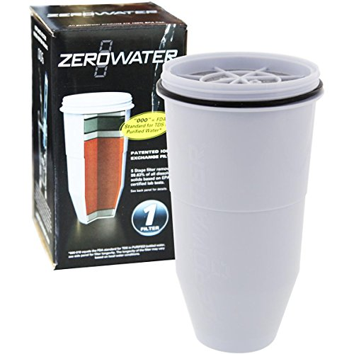 Zero Water 5-Stage Ion Exchange Replacement Filter, 1 ea