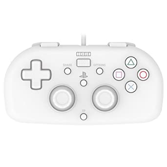 Hori SONY Licensed Wired Controller Light Small White for PS4